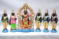 Parathasarathy and Thayar set 10  Inches