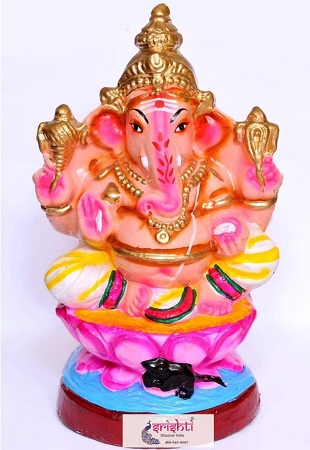 Eco Friendly Ganesha Clay 003