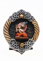 Beautiful Art Krishna stand  Statue