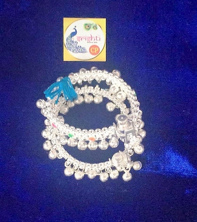 Sterling Silver Bell Anklets 08