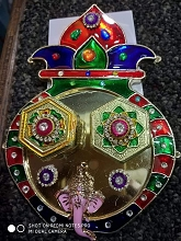 SMS049 Kalash pot designed kumkum container